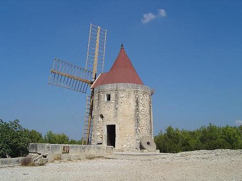 Moulin d'Alphonse Daudet