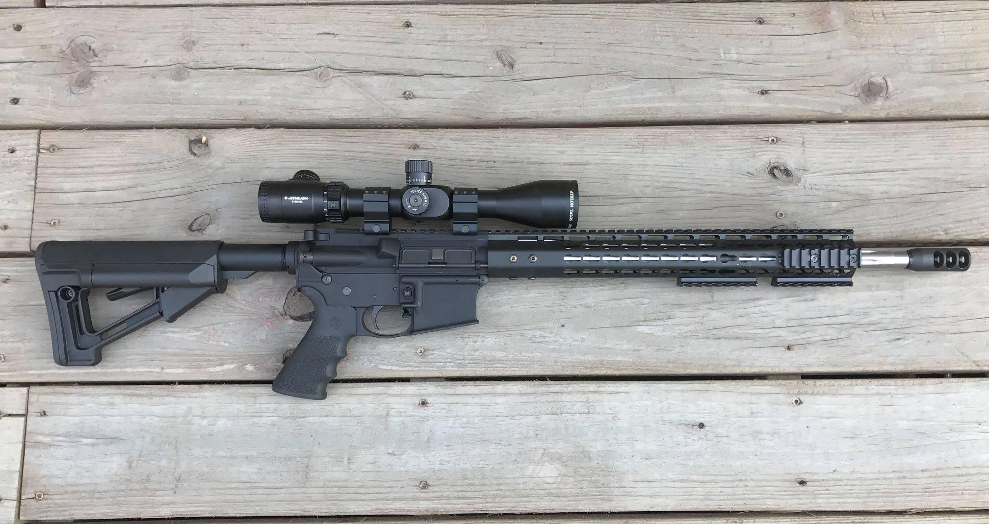 """18"""" AR15 Build"""