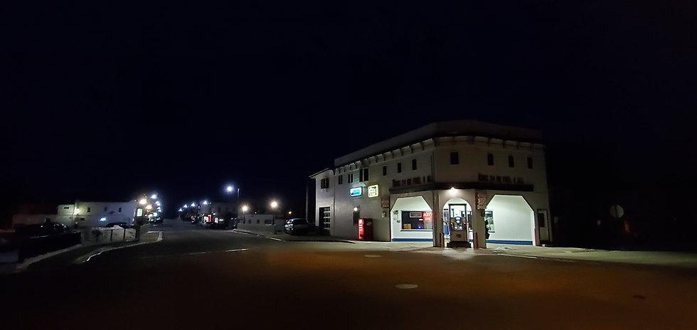 Monticello gas station night.jpg