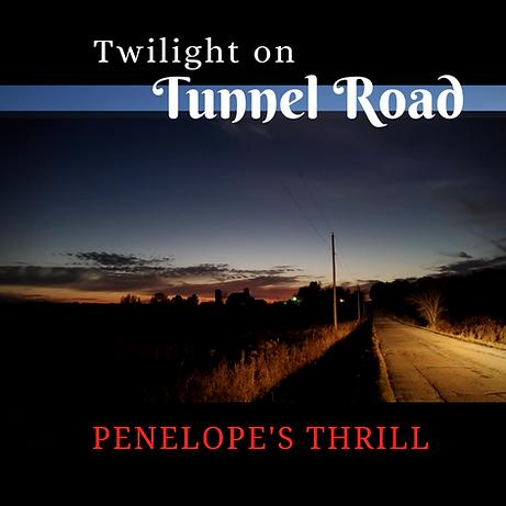 Twilight on Tunnel Road ALBUM cover Blue