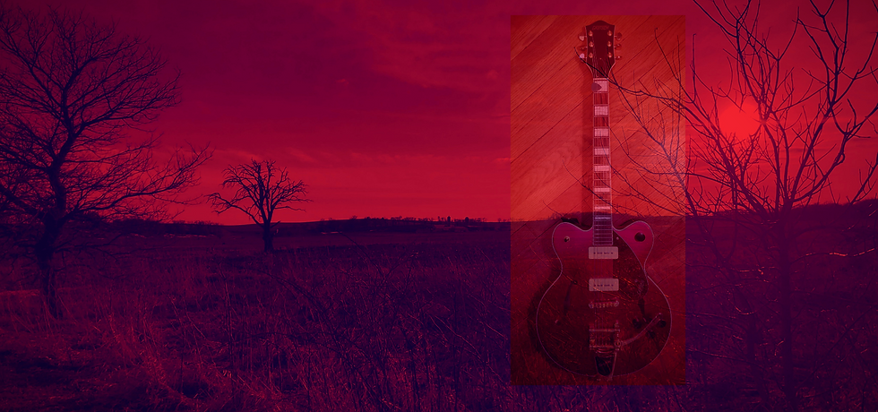 Lonnie's Red Guitar for Wix website Adju