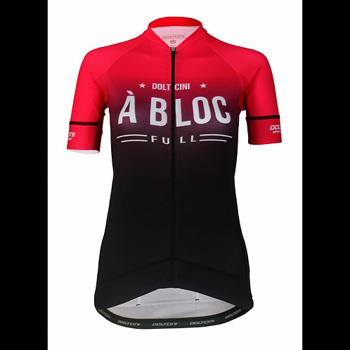 LADY Cycling Jersey - A Bloc - Short Sleeves