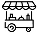 146883045-street-food-cart-icon-template