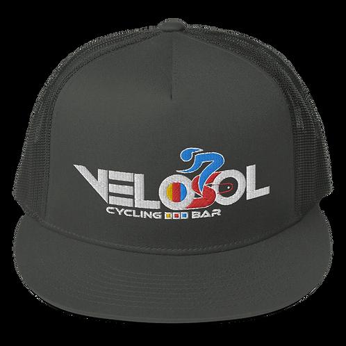 Velosol Cycling Bar - Mesh Back Snapback USA