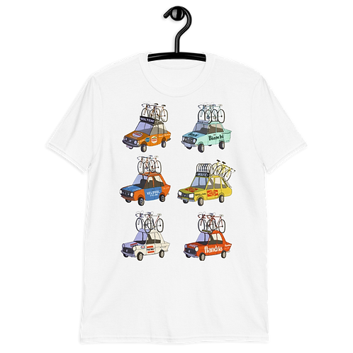 Camiseta Ciclismo Coches
