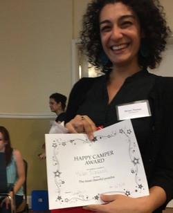 Helen wins happiest postdoc award
