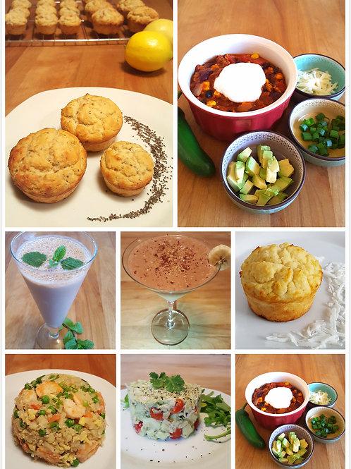 3 Days Sample Meal Plan