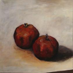 Granatäpfel_-_Acryl_auf_Leinwand_-_Kopi