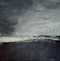 Himmel und Erde 2 - Acryl auf Leinwand