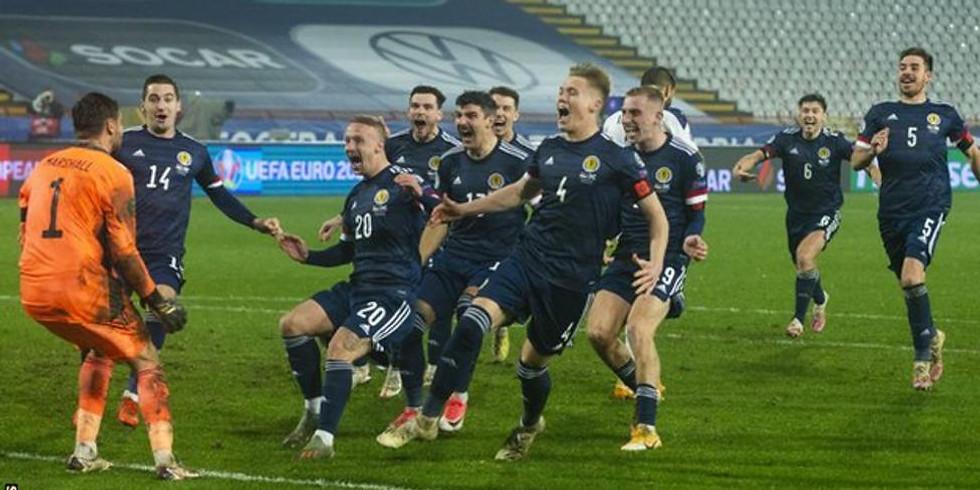Group D:Croatia vs Scotland(8pm,Glasgow)