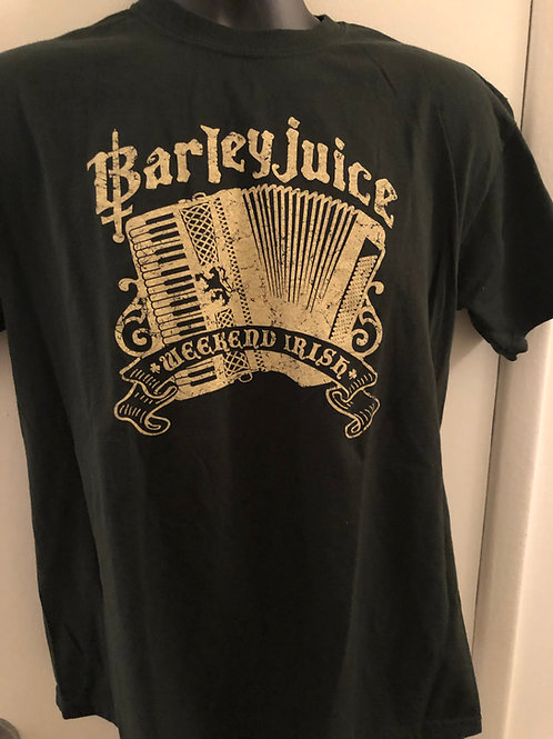 Barleyjuice - T-shirt - Weekend Irish
