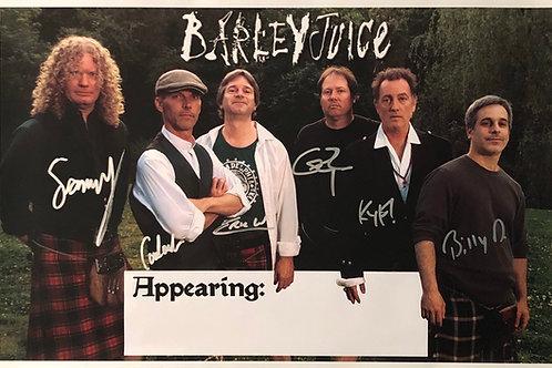 Barleyjuice -  Poster - signed 2008