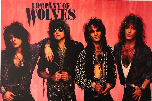 Company of Wolves - Poster - Tour 1991