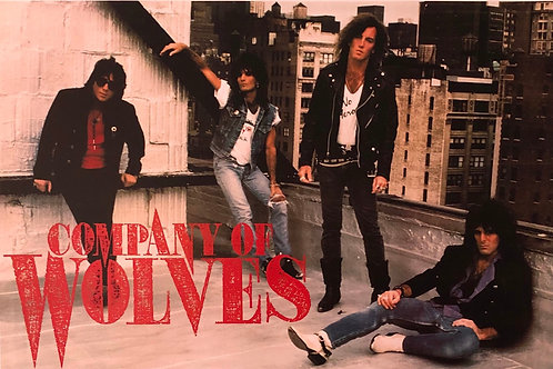 Company of Wolves - Poster - Rooftop 1990