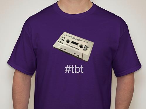 The Ravyns - T-shirt - #ThrowbackThursday cassette