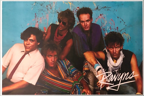 The Ravyns - Poster - color 1984