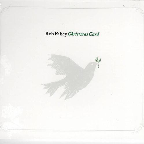 Rob Fahey - CD - Christmas Card