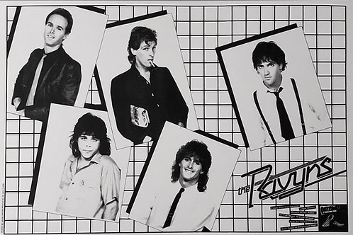 The Ravyns - Poster - black and white 1983