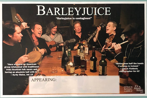 Barleyjuice -  Poster - Contagious 2010