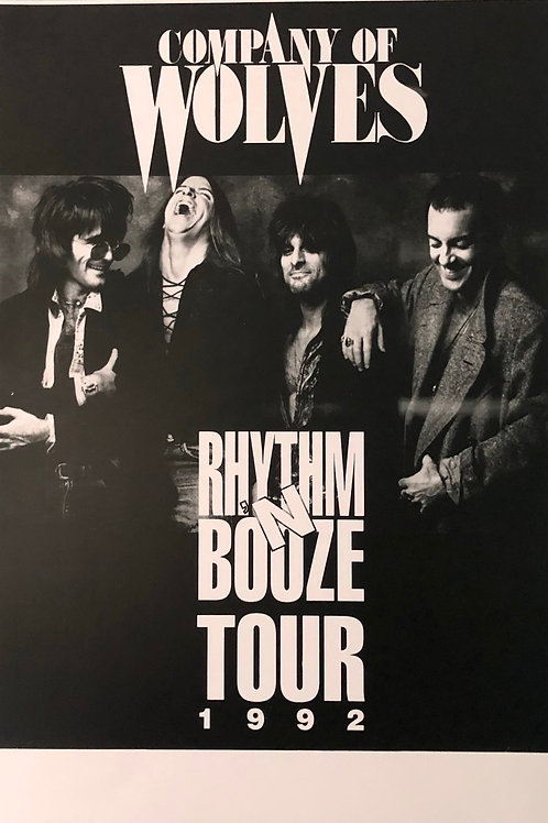Company of Wolves - Poster - Rhythm & Booze 1994