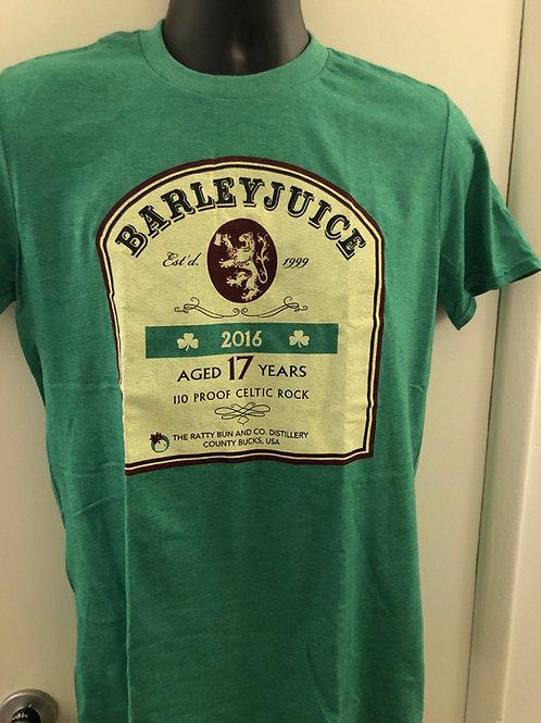 Barleyjuice - T-shirt - Green