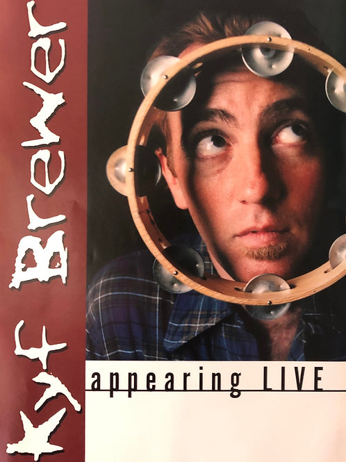 Kyf Brewer - Poster - Appearing Live 1994
