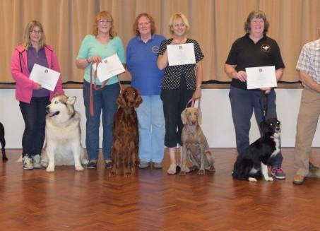 Kennel Club Good Citizens Silver Award