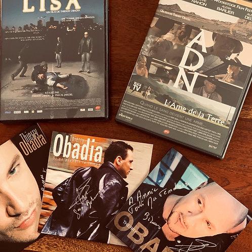 6 - Lot qui comprend mes 2 films cinéma et mes 2 singles et la clé USB 12 titres