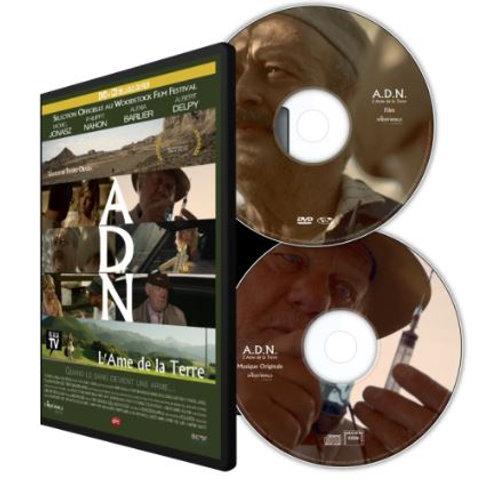 4 - DVD de A.D.N L'âme de la terre DVD + CD