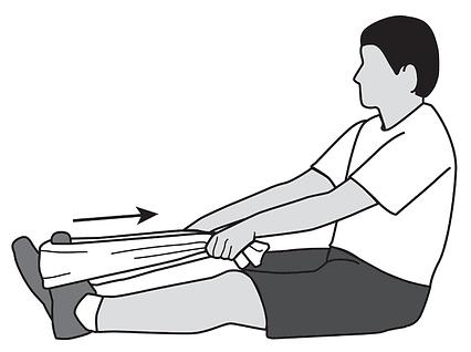 Achilles Tendn Stretch Towel