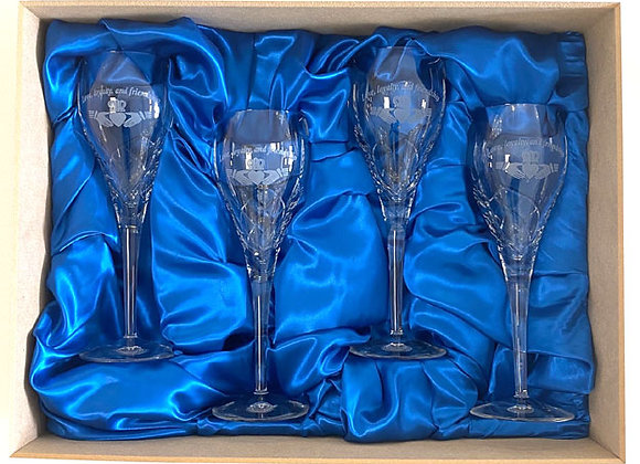 Boxed Set of wines or goblets
