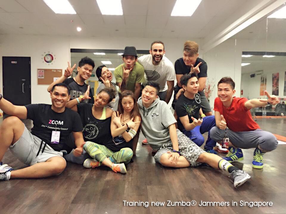 Training Zumba Jammers, Singapore