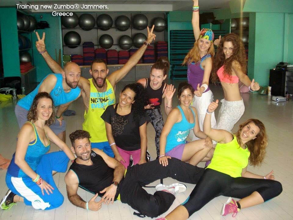 Training Zumba® Jammers