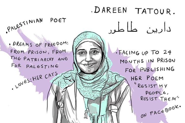 Poeten Dareen Tatour