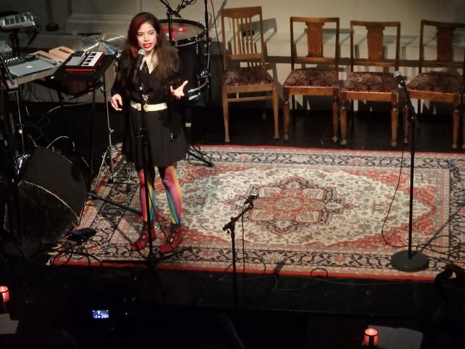 Performancekunstner Nathalie Cohen Vaxberg