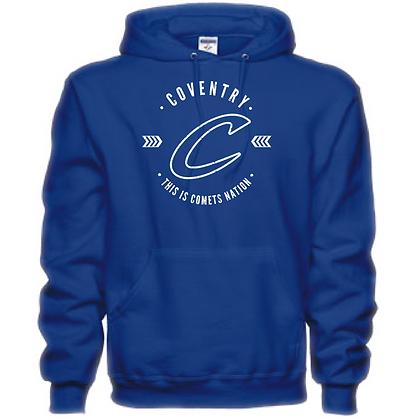 Coventry General Logo #20 Unisex Hooded Sweatshirt