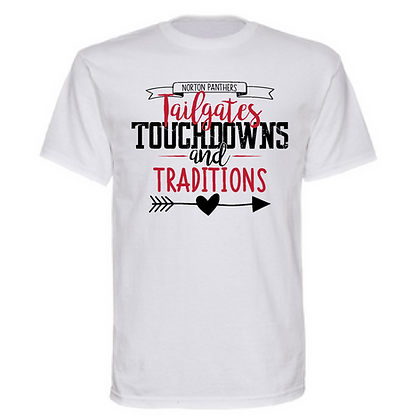 Norton Tailgates, Touchdowns, and Traditions Unisex T-Shirt
