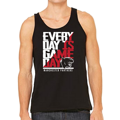 Manchester Everyday is Game Day Unisex Tank Top