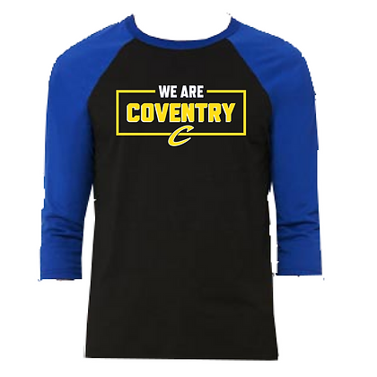 Coventry General Logo #18 Unisex Baseball Shirt