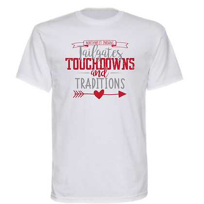 Northwest Tailgates, Touchdowns, and Traditions Unisex T-shirt