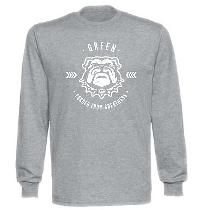 Green Founded From Greatness Unisex Long Sleeve T-Shirt
