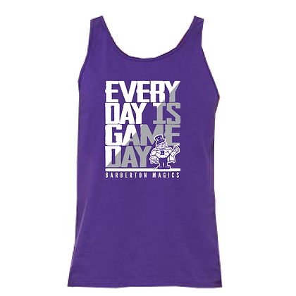 Barberton Everyday is Game Day Unisex Tank Top