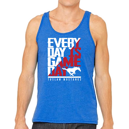 Tuslaw Everyday is Game Day Unisex Tank Top