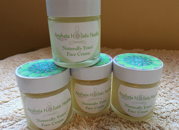"""""""Naturally Yours"""" Shea Butter and Argan Face Cream"""