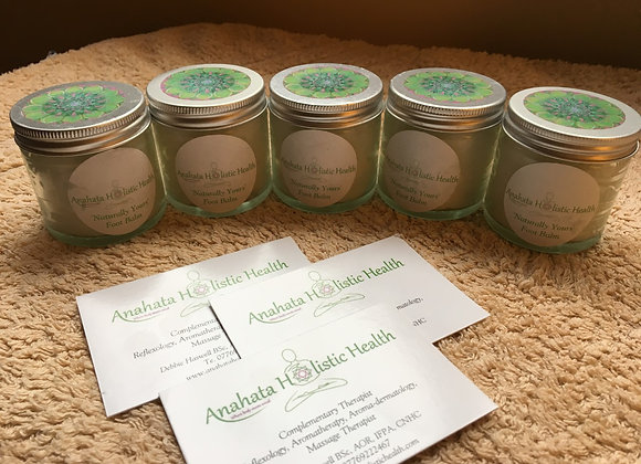 """""""Naturally Yours"""" Peppermint & Patchouli Foot Balm"""