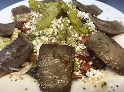 Greek Salad with Gyro