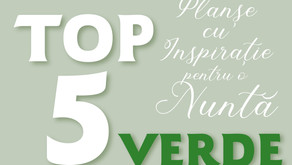 TOP 5 Planșe cu Inspirație pentru o Nuntă VERDE