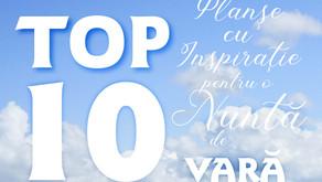 TOP 10 Planșe cu Inspirație pentru o Nuntă de VARĂ