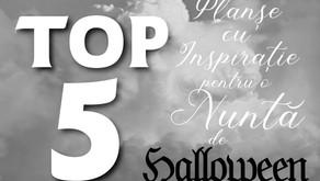 TOP 5 Planșe cu Inspirație pentru o Nuntă de Halloween