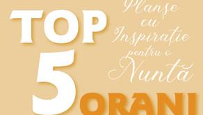 TOP 5 Planșe cu Inspirație pentru o Nuntă ORANJ